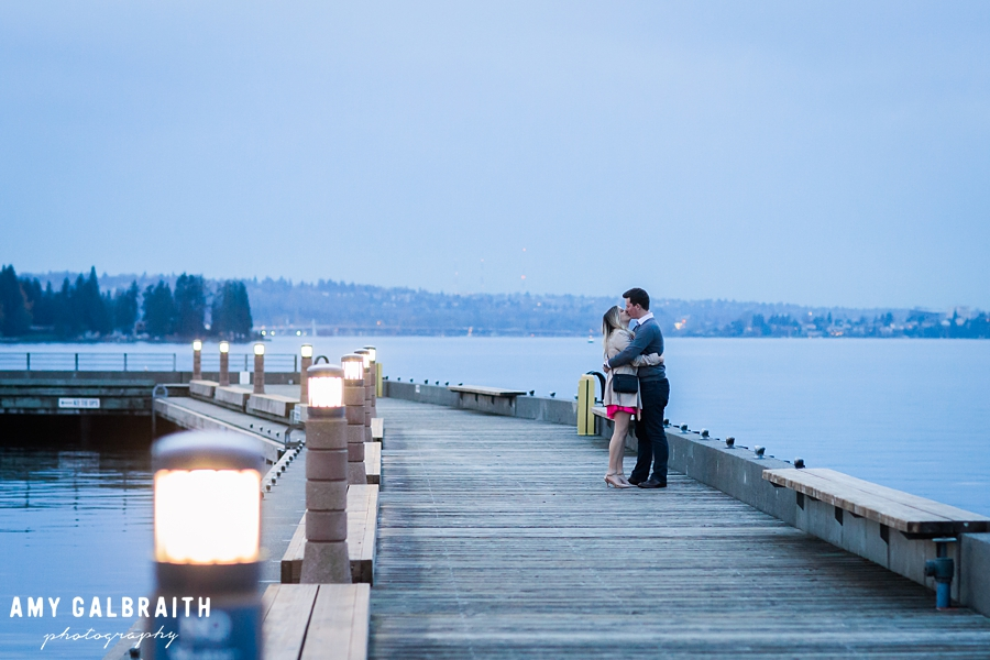 twilight proposal at carillon point in kirkland