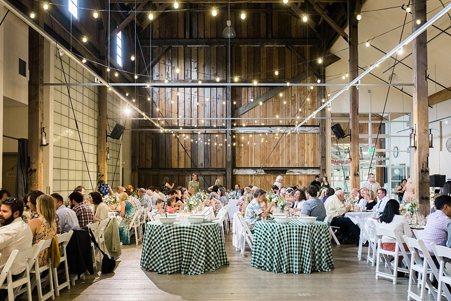 pickering barn wedding reception