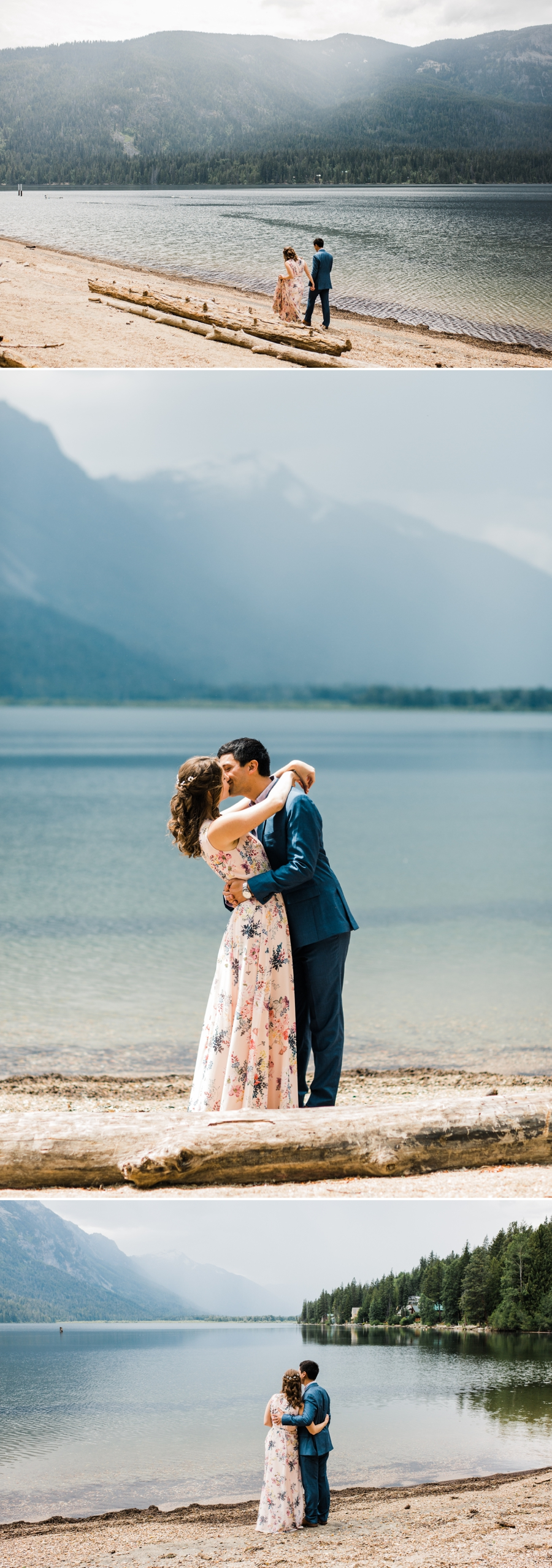 Rustic Mountain Wedding in Leavenworth at Brown Family Homestead photographed by Seattle Wedding Photographer Amy Galbraith