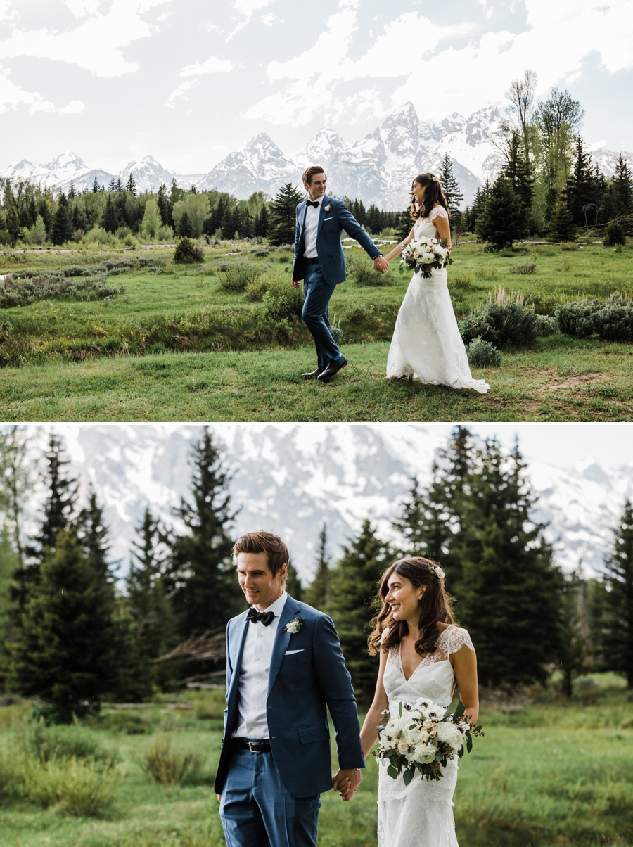 Jackson Hole Wedding at Hotel Terra and Grand Teton National Park by Jackson Hole Wedding Photographer Amy Galbraith Photography