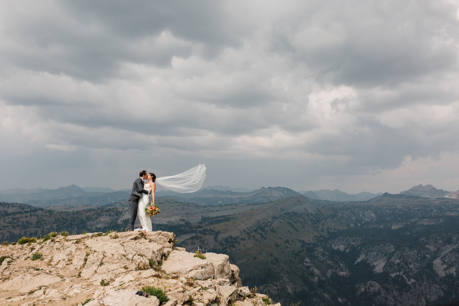 Grand Targhee Wedding in Jackson Hole by Amy Galbraith Photographer