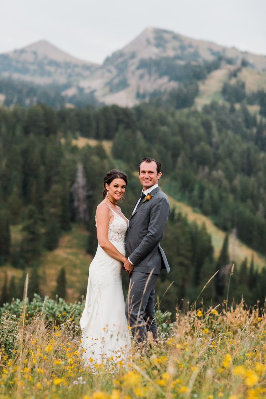 Grand Targhee Ski Resort Wedding in Jackson Hole by Amy Galbraith Photography