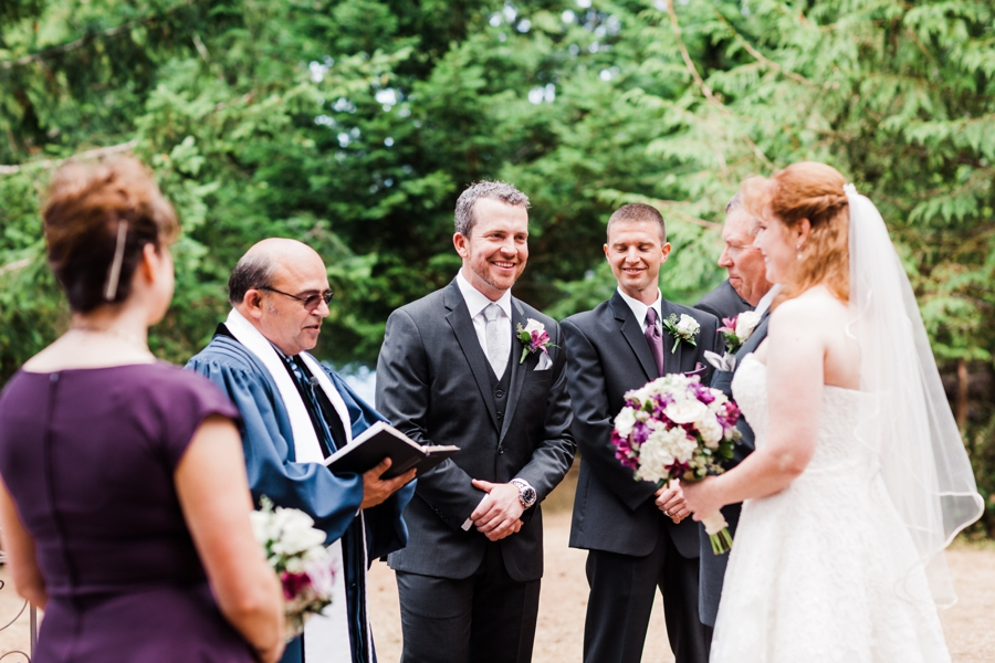 Lake Crescent Lodge wedding at Olympic National Park photographed by outdoor mountain wedding photographer Amy Galbraith
