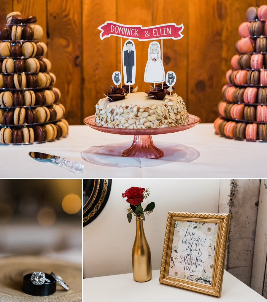 Downtown Seattle Winter Wedding at Within Sodo by Seattle Wedding Photographer Amy Galbraith