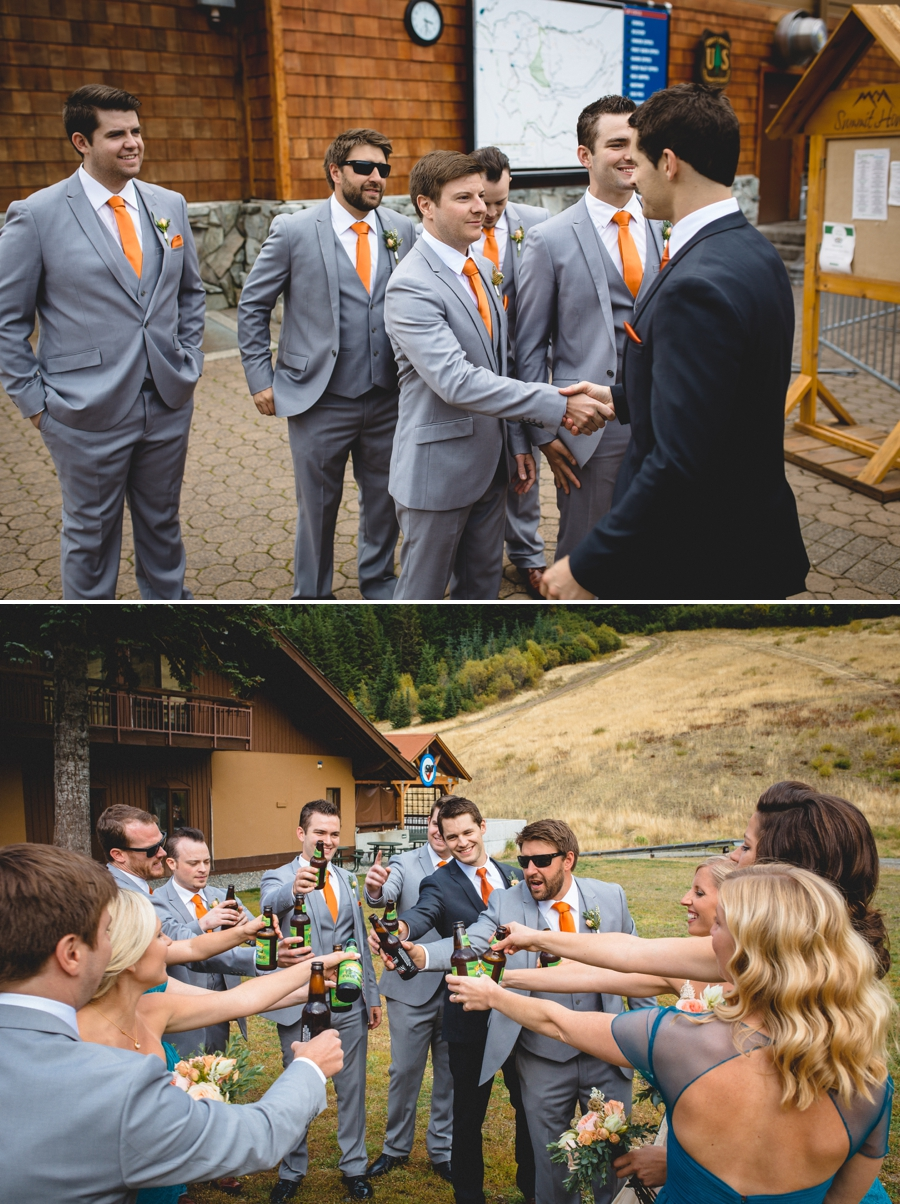 Pacific Northwest Fall Wedding at Crystal Mountain - Photography by Lucas Mobley