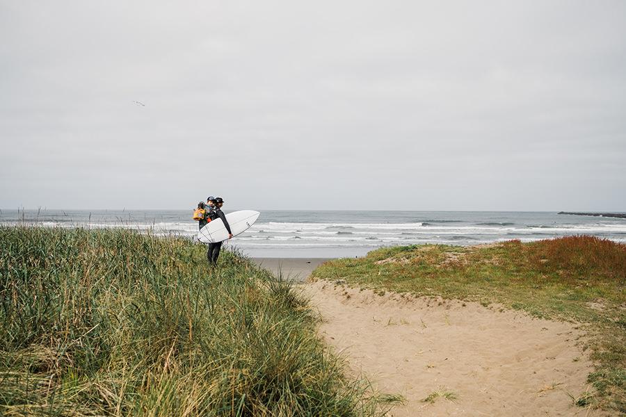 Westport Surfing with Kids in Washington by Amy Galbraith