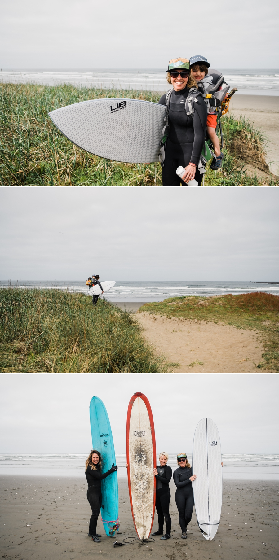 Westport Surfing with Kids in Washington by Amy Galbraith