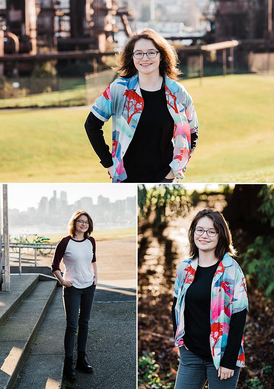 Class of 2019 Seattle Senior Photographer Amy Galbraith