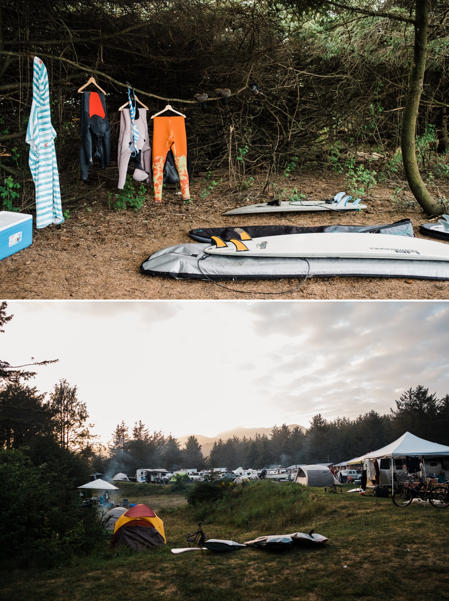 Surf Camping at Hobuck Beach on the Washington Coast by Adventure Photographer Amy Galbraith