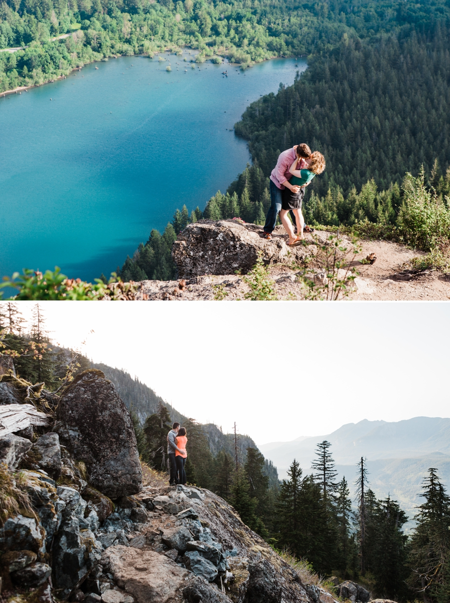 Snoqualmie Pass is one of the Best Places to Elope in Washington from Adventure Elopement Photographer Amy Galbraith